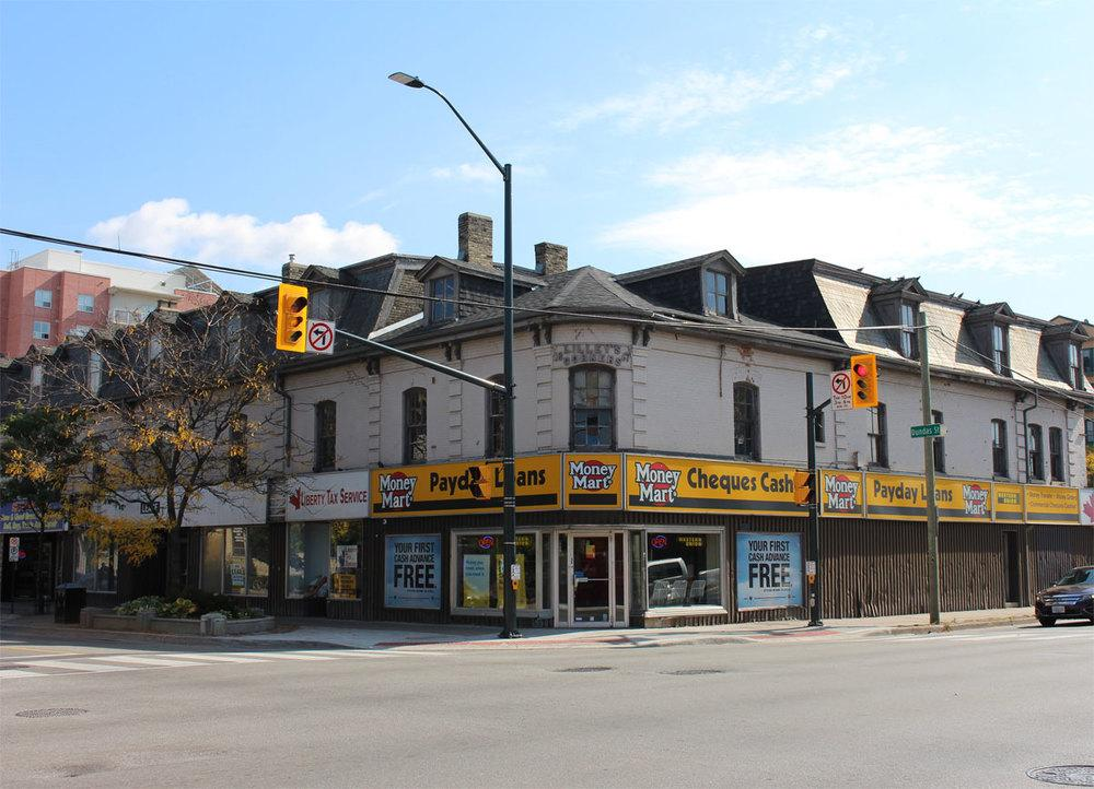 Lilley's Corners at Dundas and Adelaide