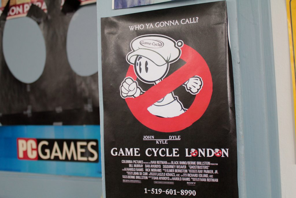 Call Game Cycle, London, ON