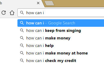 google search results for how can I
