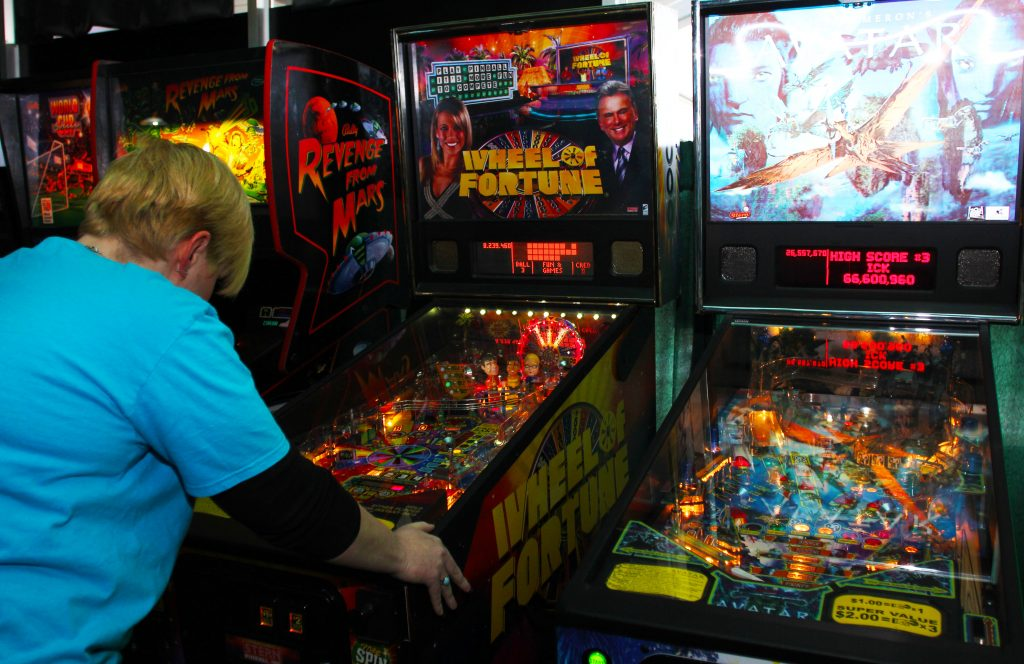 Pinball at Strokers in London, ON