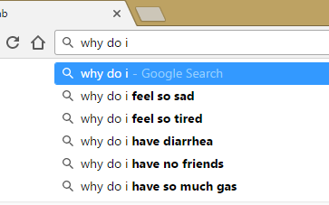 google search results for why do i
