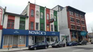 The old Novack's building at King and Clarence, where LondonFuse is located.