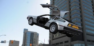 DeLorean rapid transit