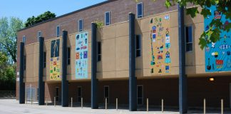 The Lorne Ave Public School Building in London, Ontario.
