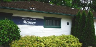 The historic Roy McKay Club House at Labatt Memorial Park in London, ON.