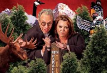 Lewis Black and Kathleen Madigan