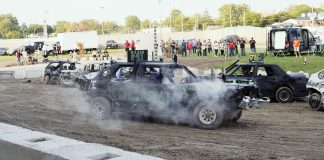 Western Fair demolition derby