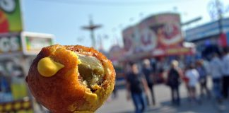 Deep fried bacon pickle balls.