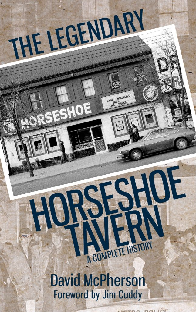 Horseshoe Tavern Book CoverFINAL