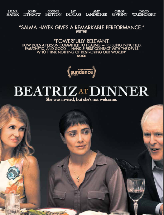 "Movie poster for ""Beatriz at Dinner"""