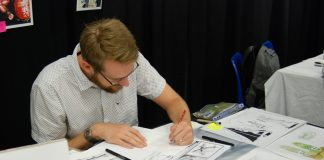 Nigel Garnaitis at London Comic Con