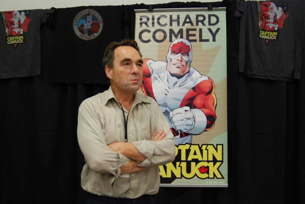 Richard Comely at London Comic Con