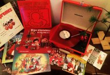 Sounds of the season - Christmas vinyl.
