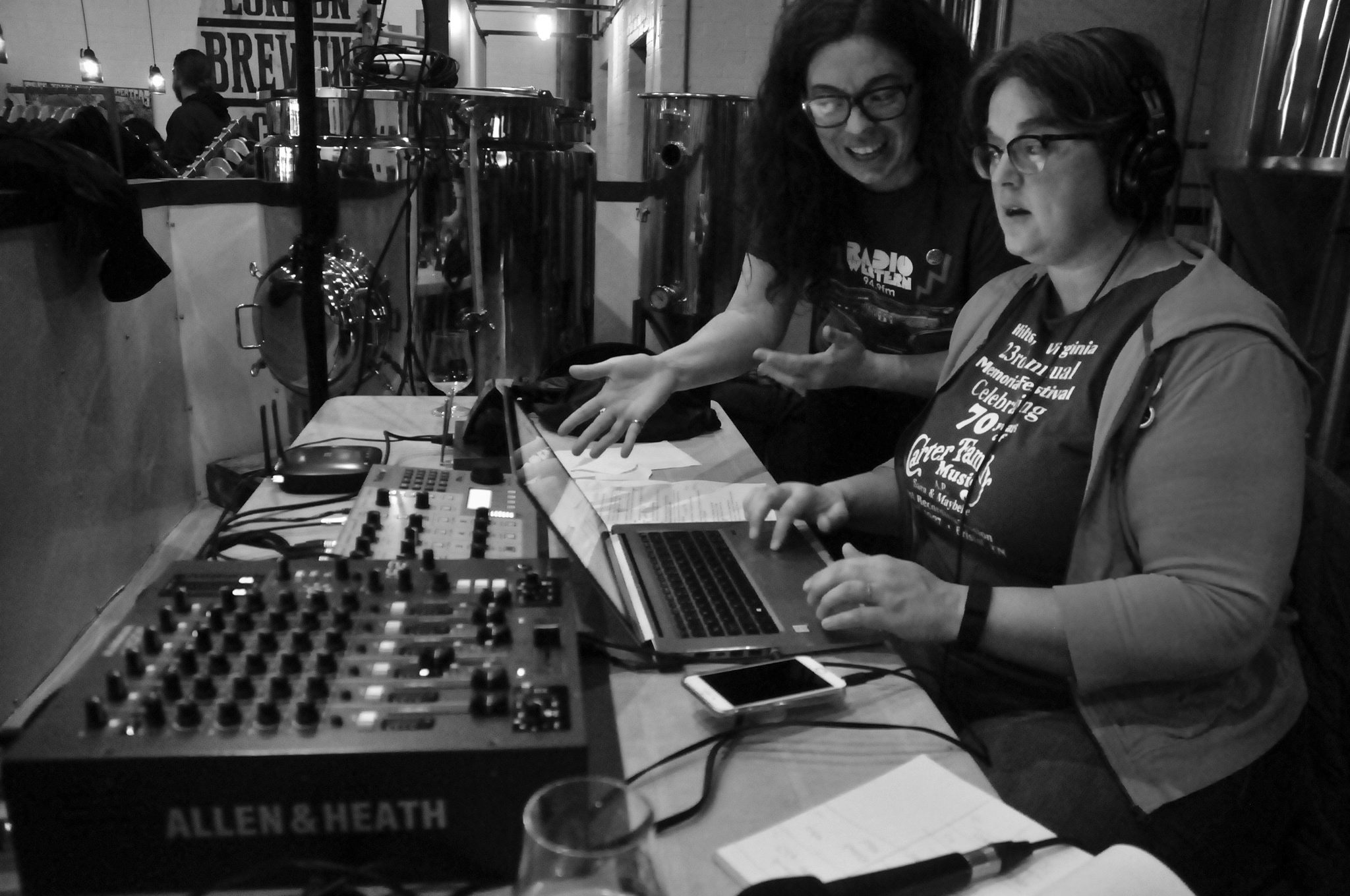 Radio Western held a live to air fundraiser from the London Brewing Co-op.