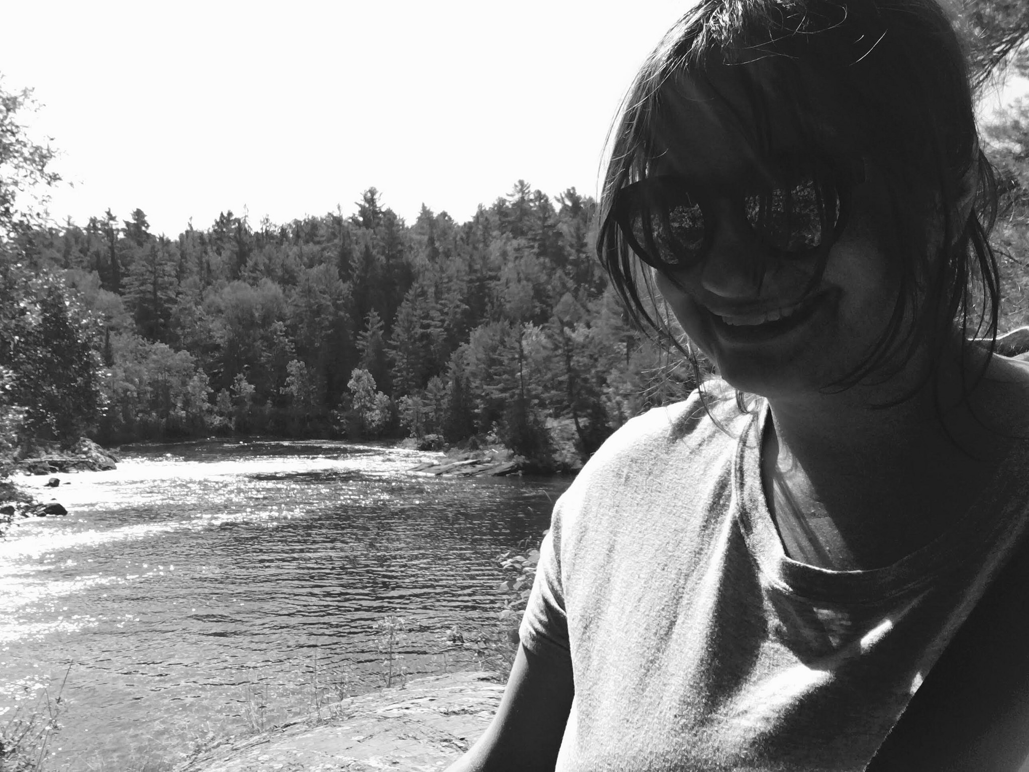 Slow and steady: What I learned from therapy. Emily Stewart at Serpent River, Ontario.