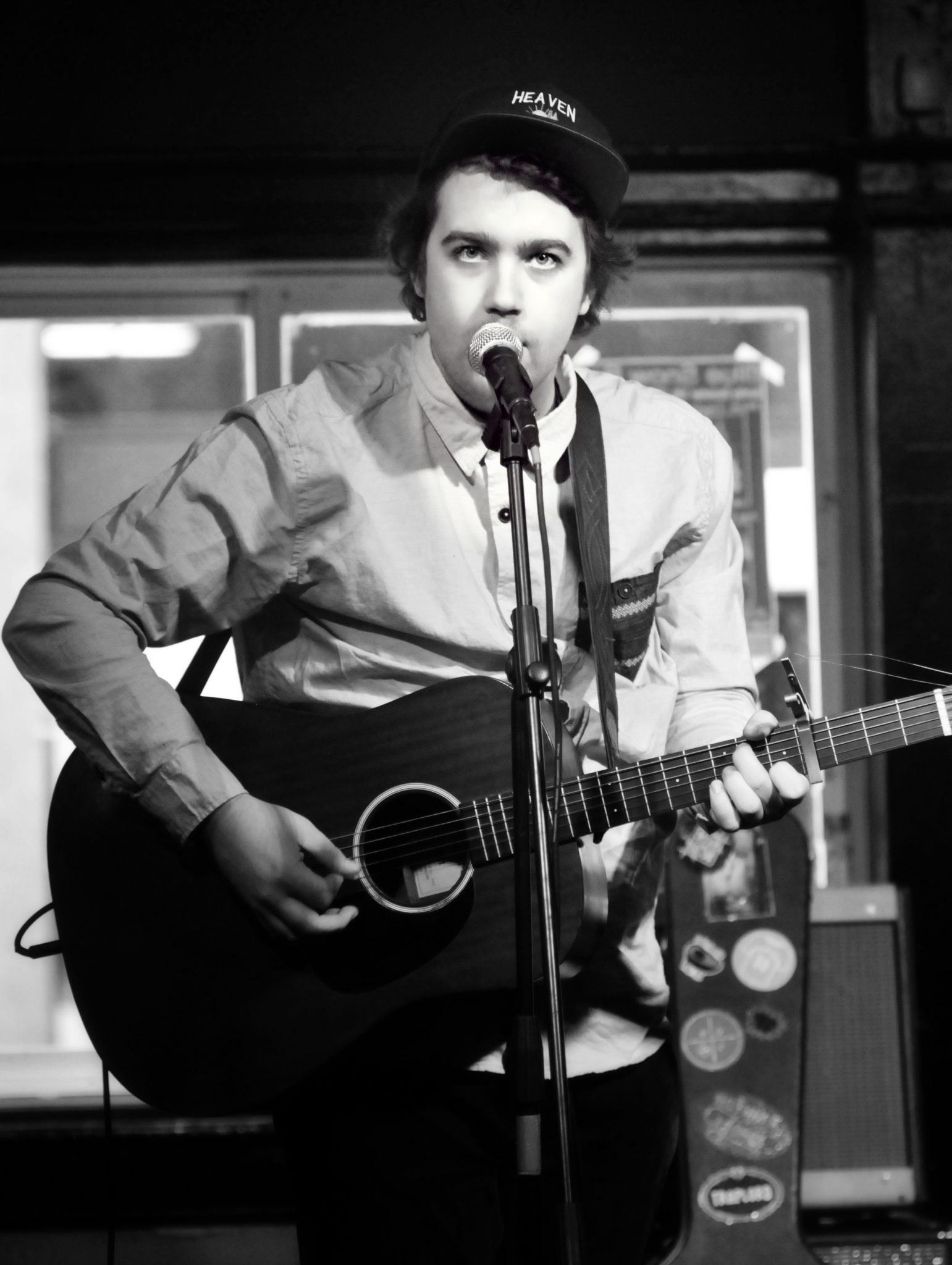Cosmic Canadiana folk icon, Ivan Rivers performing at the Richmond Tavern.