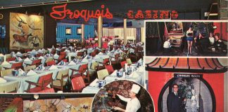 The old Iroquois Casino, as seen through the lens of postcard photog Victor Aziz.