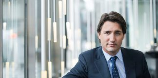 Prime Minister Justin Trudeau. Photo via facebook.