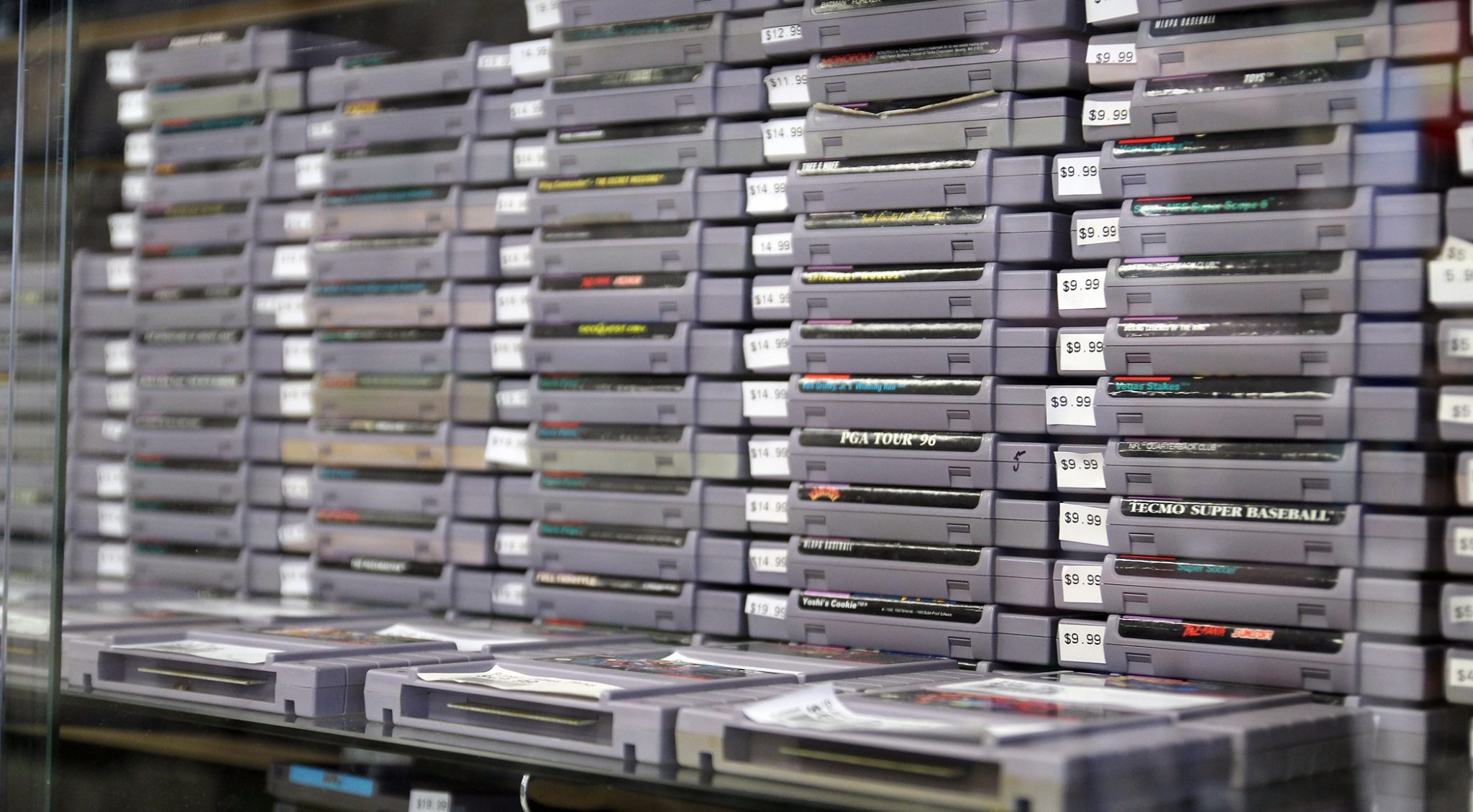 These SNES games used to be in the bargain bin in the 90s. Now? They are collectors' gold.
