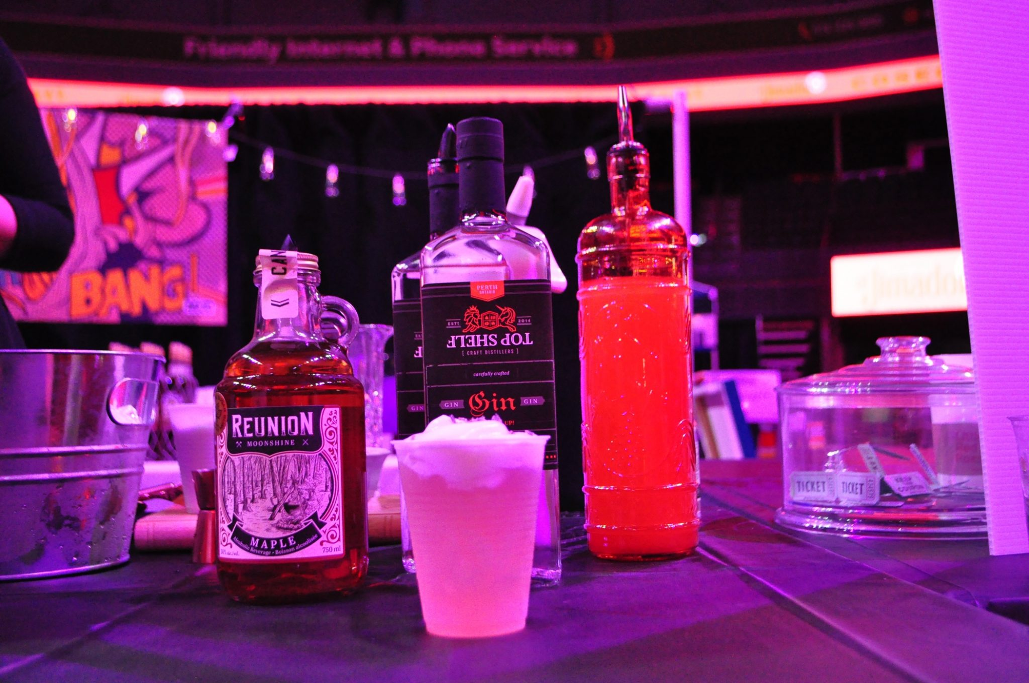 The Cocktail Show had a good mix (get it?) of spirits to brighten everyone's day.