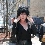 Teresa Amy as Elvira at Free Comic Book Day in London, Ontario. Photo by Emily Stewart.