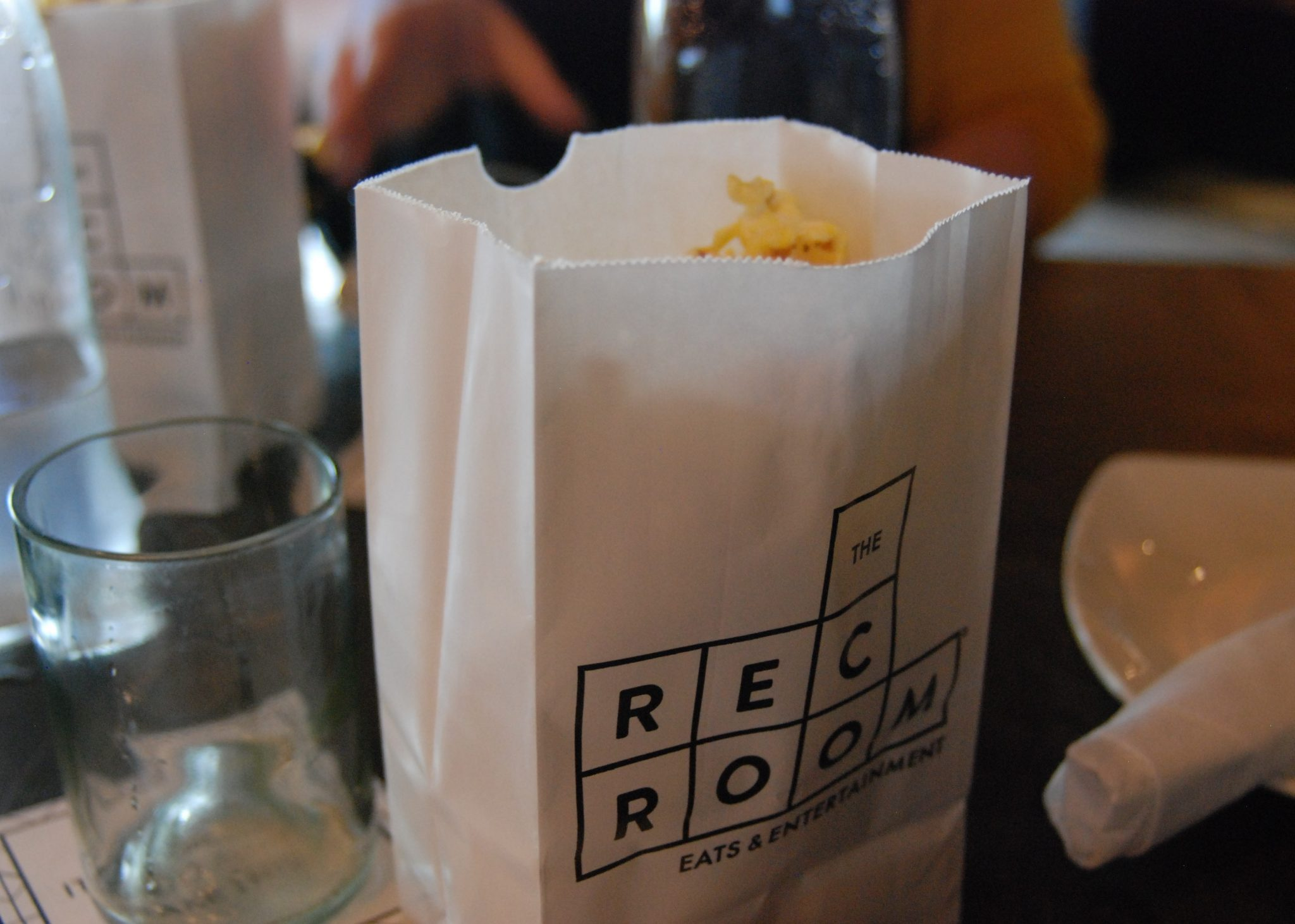 Satisfy your hunger for gaming at the Rec Room. Popcorn from the Rec Room in London, Ontario.Photo by Emily Stewart.