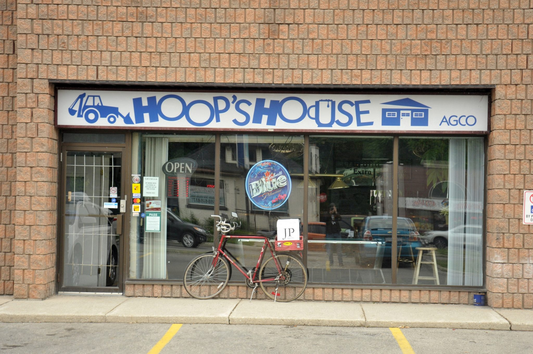 You'd be hard pressed to find a more friendly place than Hoops.
