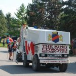 Thank You Ilderton. A truck representing the King Edward Restaurant and Pub at the Thank You Ilderton Parade in Ilderton, Ontario. Photo by Emily Stewart.