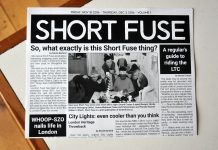 The issue that started it all - Short Fuse #1 in November, 2016. Gerard, Nicki, Harina and Pam hard at work.