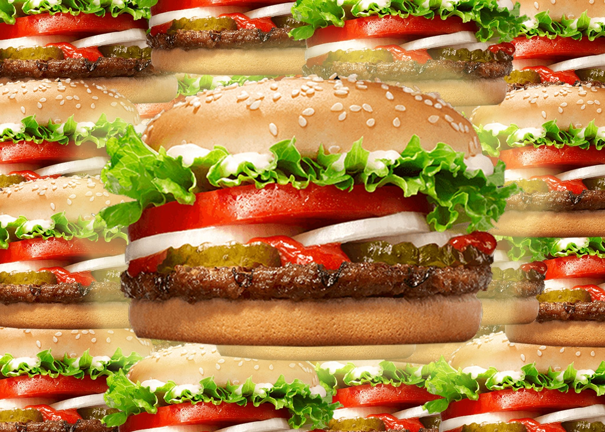Perfection in a tiny package... The Whopper Junior.