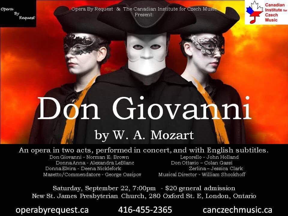 Don Giovanni in London - LondonFuse