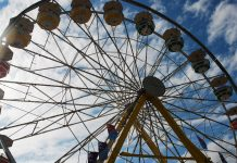 5 Facts about the Western Fair's past. The ferris wheel at the Western Fair in London, Ontario. Photo by Emily Stewart.