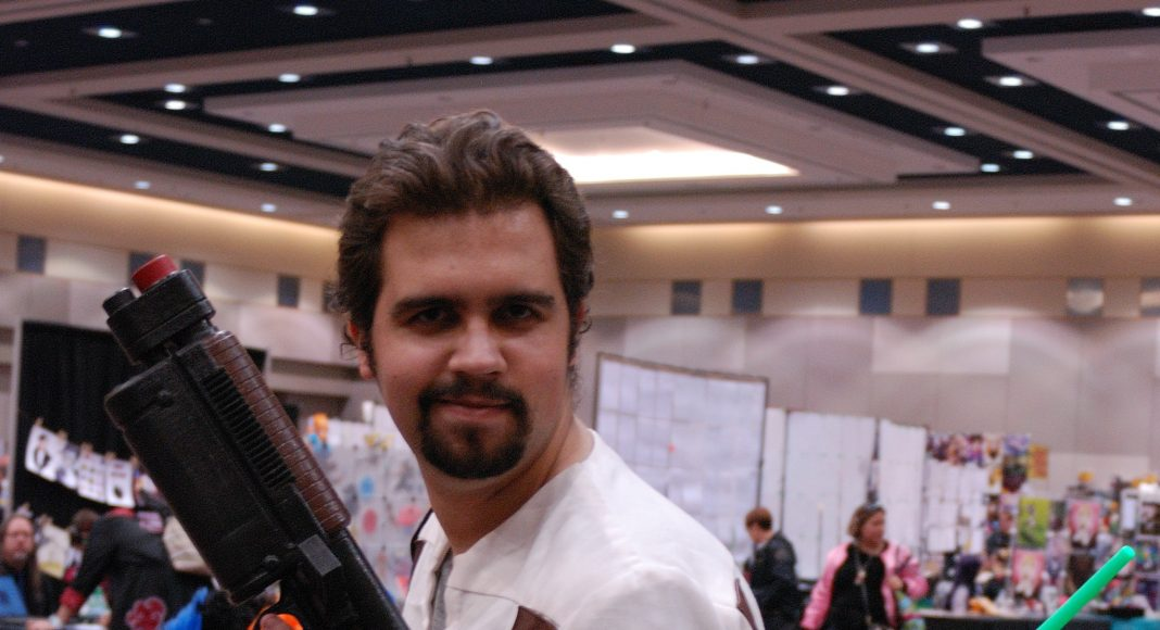 Forest City Comicon 2018. Eric Chenette cosplaying as Kyle Katarn from Star Wars at Forest City Comicon 2018 in London, Ontario.