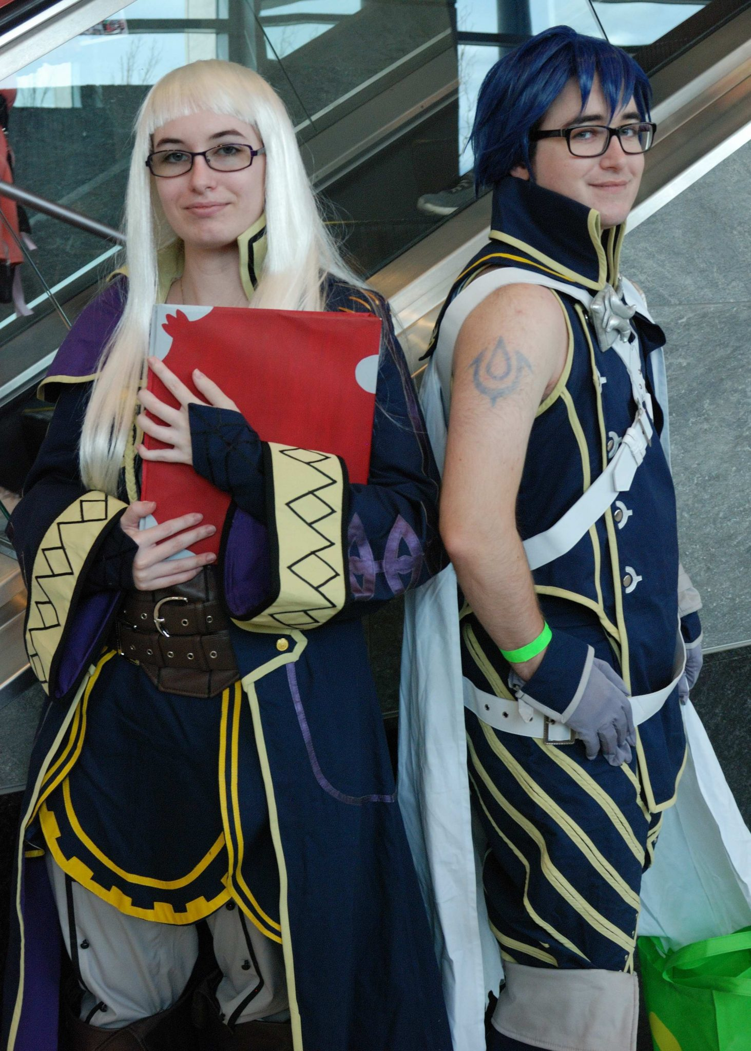 Forest City Comicon 2018. Tameica Buck and Lawrence Buck cosplaying as Robin and Chrom from Fire Emblem at Forest City Comicon in London, Ontario.