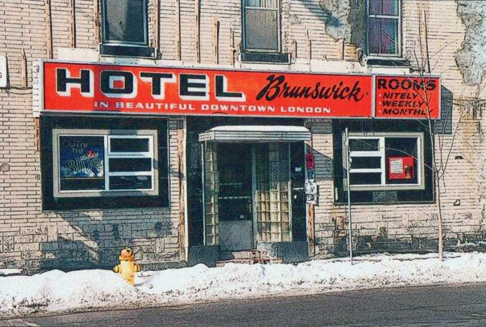 A wound that will never heal - the loss of the Brunswick. Photo via The Wick! facebook page, Paul Latorre.