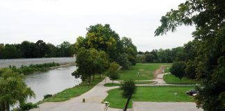 Harris Park in London, Ontario.
