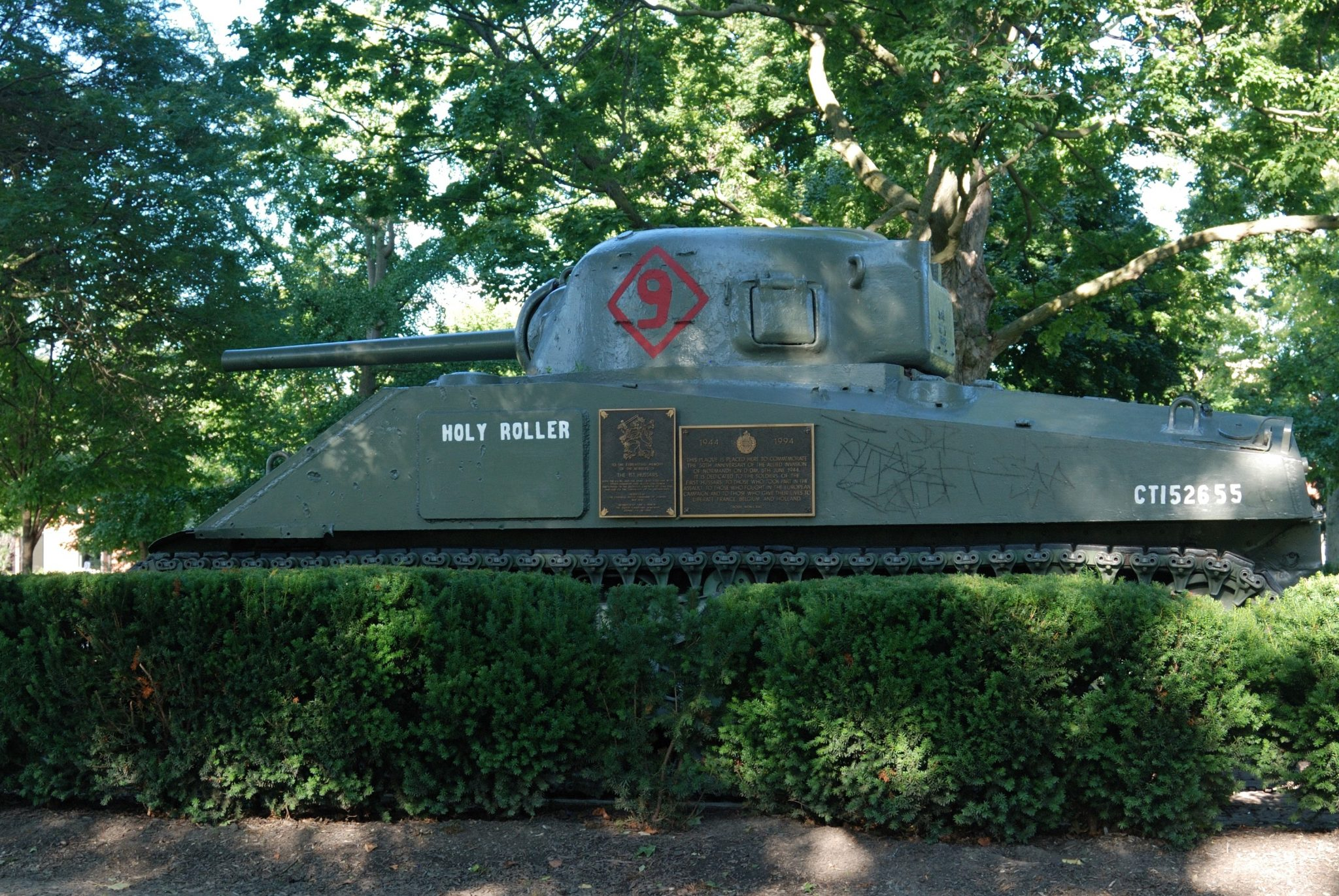 The Holy Roller Tank at Victoria Park in London, Ontario