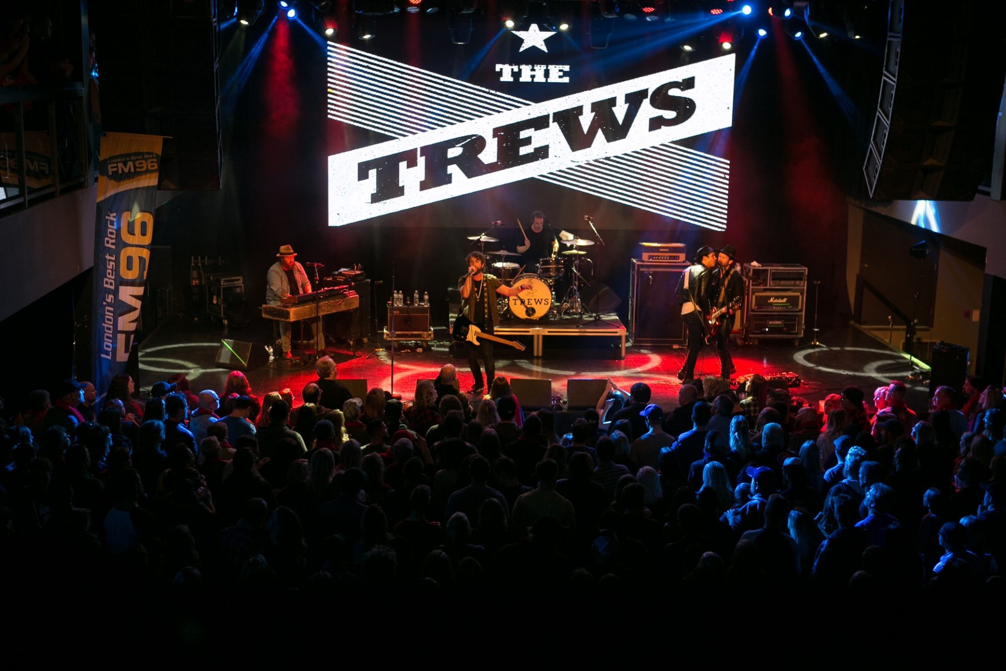 The Trews performance last year at the Red Scarf Benefit Concert, Regional HIV/AIDS Connection 2017.
