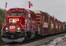 You don't have to be a railfan to love the CP Holiday Train, but it doesn't hurt! Photo by Chad Smith.