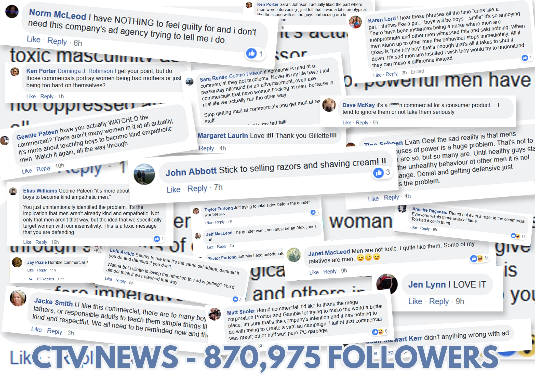 CTV News (not to be confused with CTV News London) has 870,975 followers from coast to coast to coast.