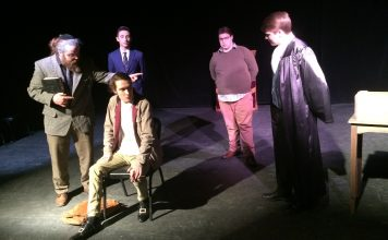 The Interrogation Of Baruch De Spinoza - (promotional photo)