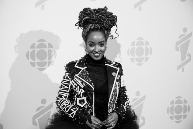 Reporter, producer, and host for CBC, Amanda Parris.