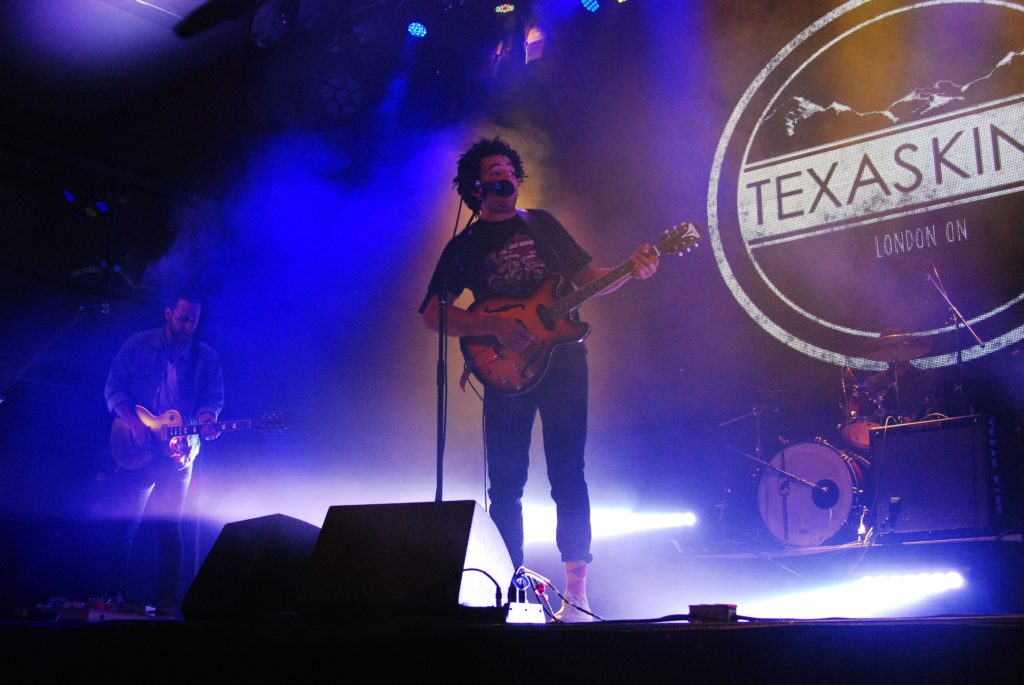 Jordan Macdonald of Texas King performing at the London Music Hall in London, ON