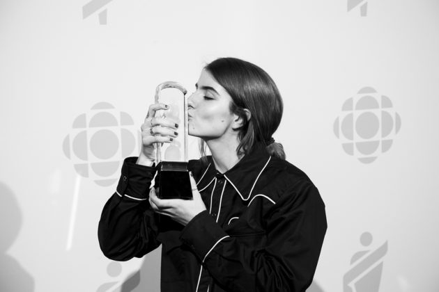 After performing live at the Junos, Bülow would go on to win Breakthrough Artist of the Year.