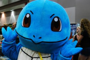 Squirtle at Forest City ComiCon in London, Ontario