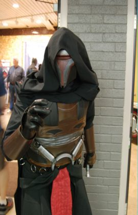 SI2759 from the 501st Legion as Darth Revan from Star Wars at Forest City ComiCon at Centennial Hall in London, Ontario