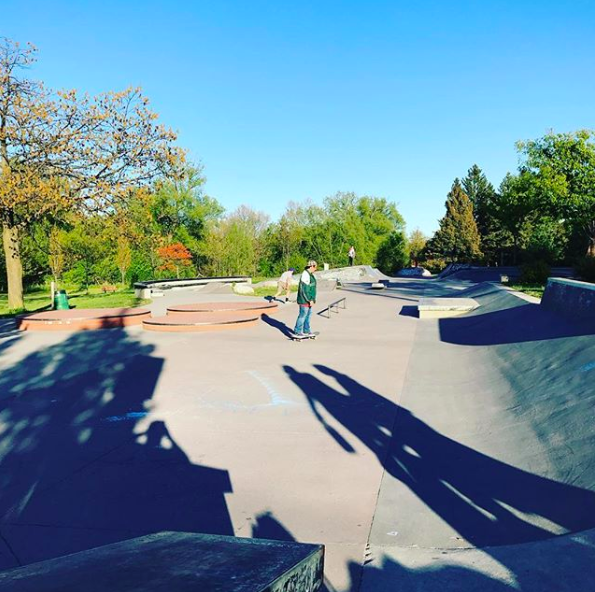 Try something new – or reconnect with your favourite hobby – at Kiwanis Park Skateboard Plaza  / Photo via Instagram / @artosousa