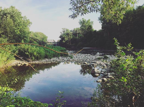 Get to know the Thames River better in Gibbons Park / Photo via Instagram / @taralewisphotog