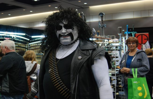 Doug Doughty as Lobo from the DC Comics Universe at London Comic Con in London, Ontario.
