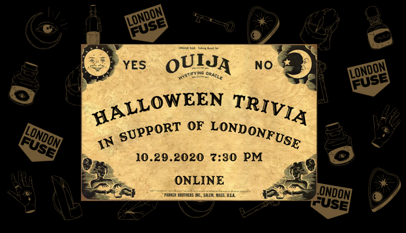 Poster for Halloween 2020 Trivia